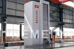 CNC floor-type milling & boring machine